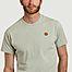 matière T-shirt siglé en coton bio Tiger Crest - Kenzo
