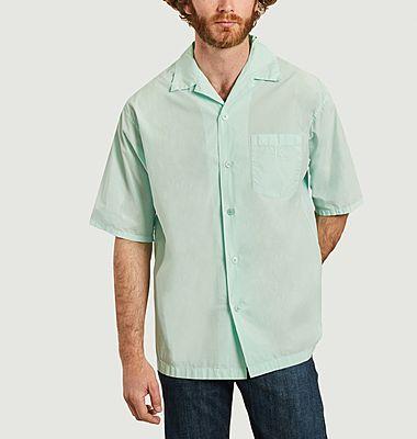 Chemise manches courtes casual avec poche siglée