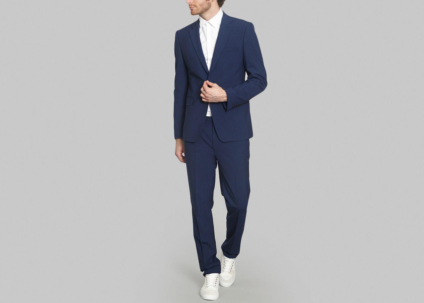 Costume Classique Bleu Kenzo  1aea51db1df