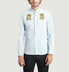 Dragon Embroidered Shirt