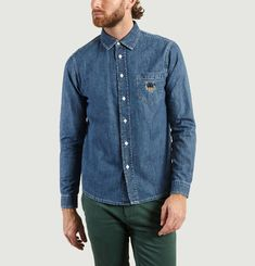 Tiger Denim Shirt