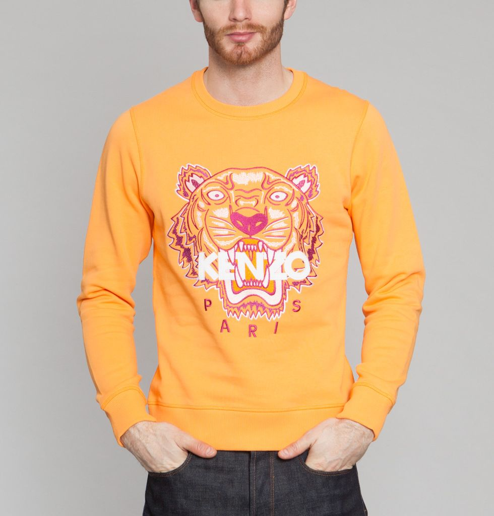 1be8d591e0d Sweat Tigre Orange Kenzo