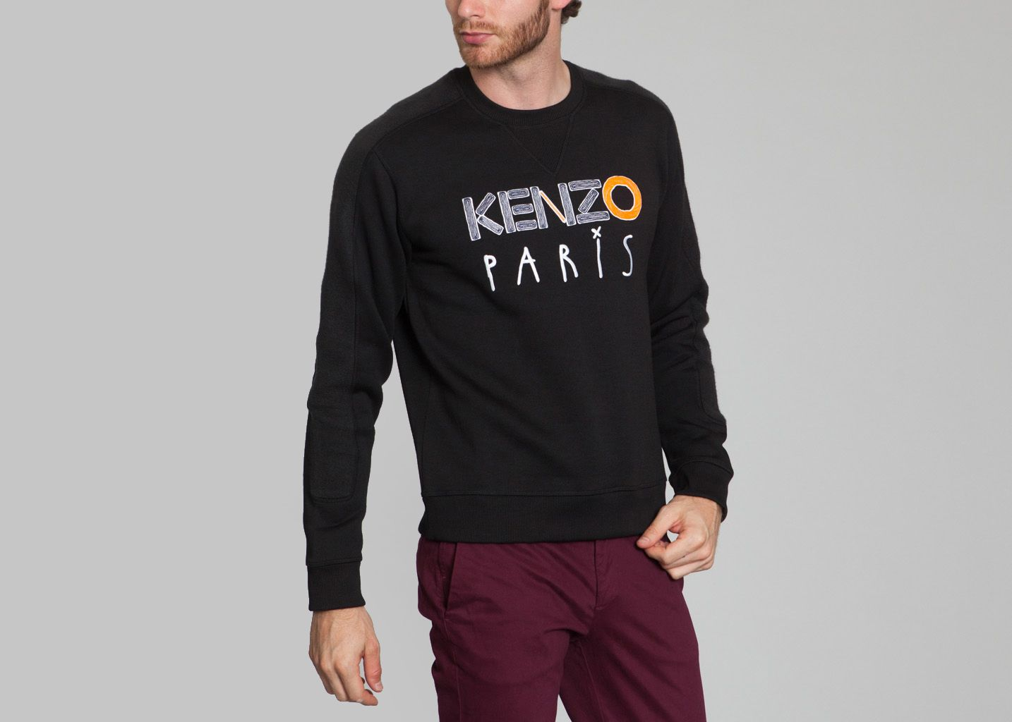 1fd14585bf6 Paris L exception Noir Sweat Sweat Kenzo L exception Paris Noir Kenzo zUS6YB