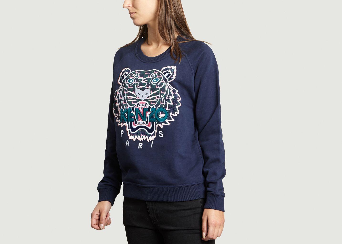 08e74fcf016e Sweat Tiger Bleu Marine Kenzo   L Exception