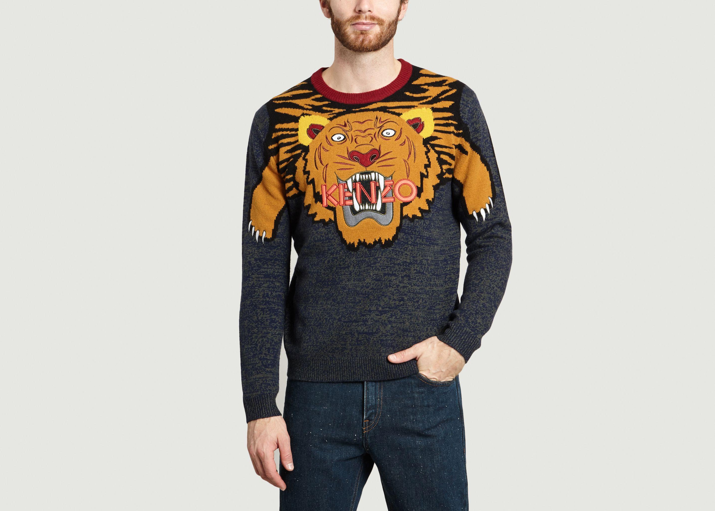 Pull Laine L'exception Khaki Tigre Kenzo wCCYx0fqB
