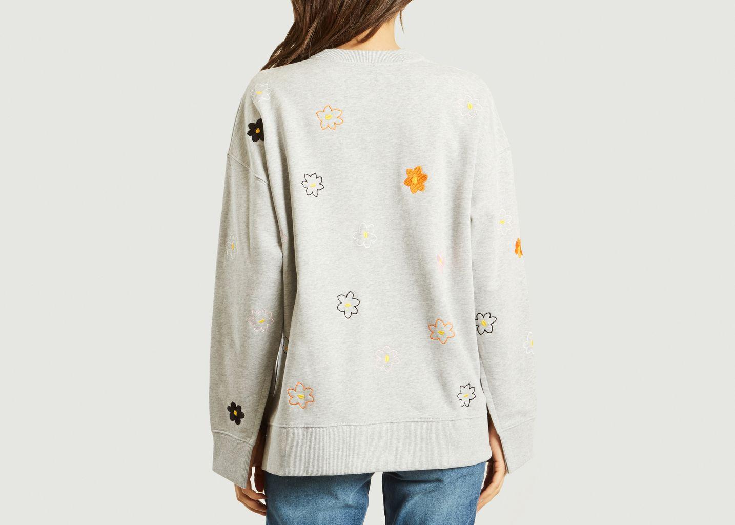 Sweatshirt Fendu Jackie Flowers - Kenzo