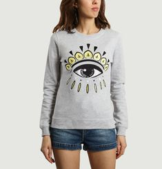 Sweatshirt Eye Brodé