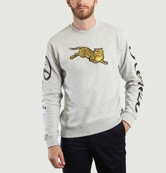 Jumping Tiger Sweatshirt