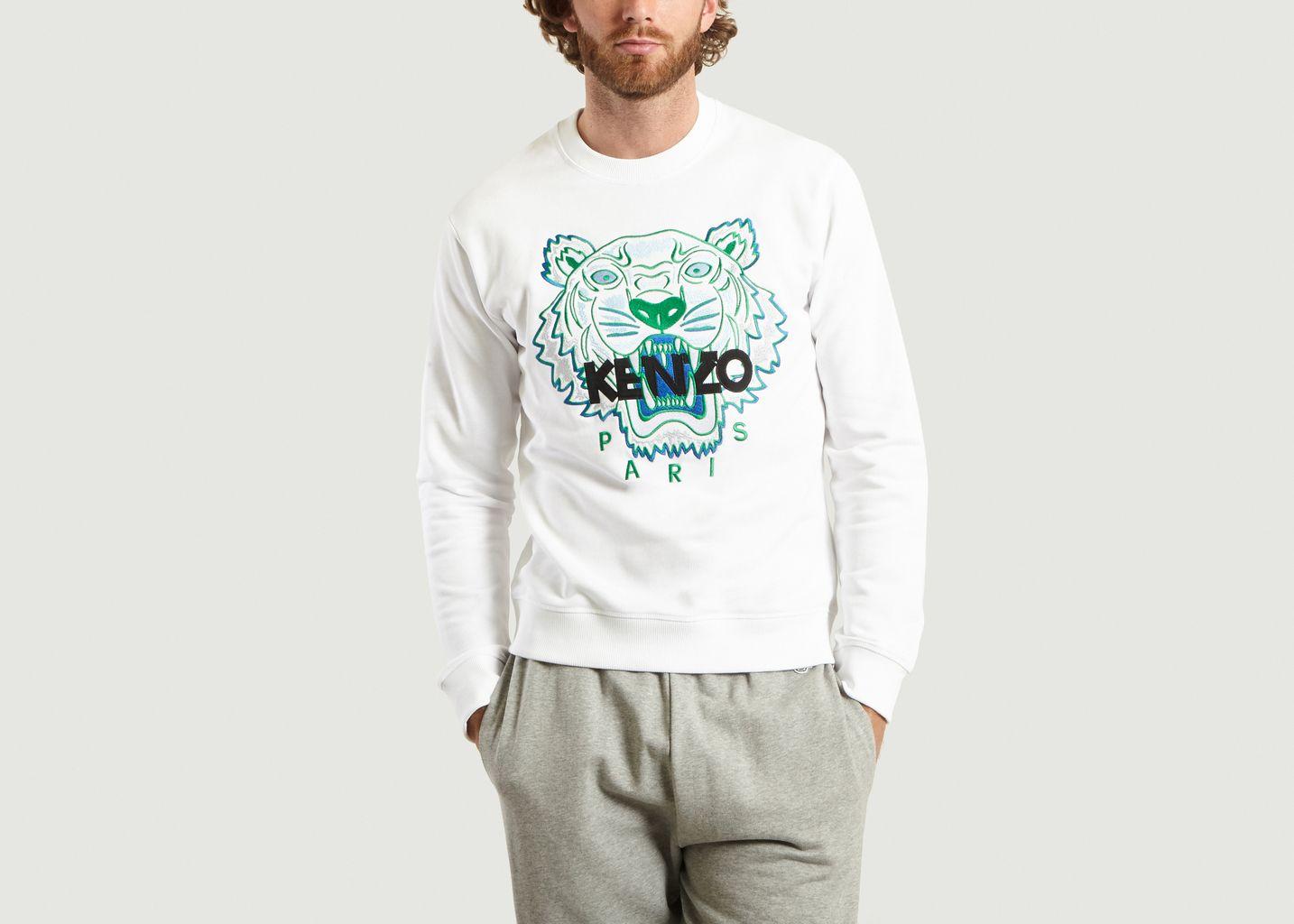 5c94cfde1d3 Sweatshirt Tigre BlancKenzo Paris
