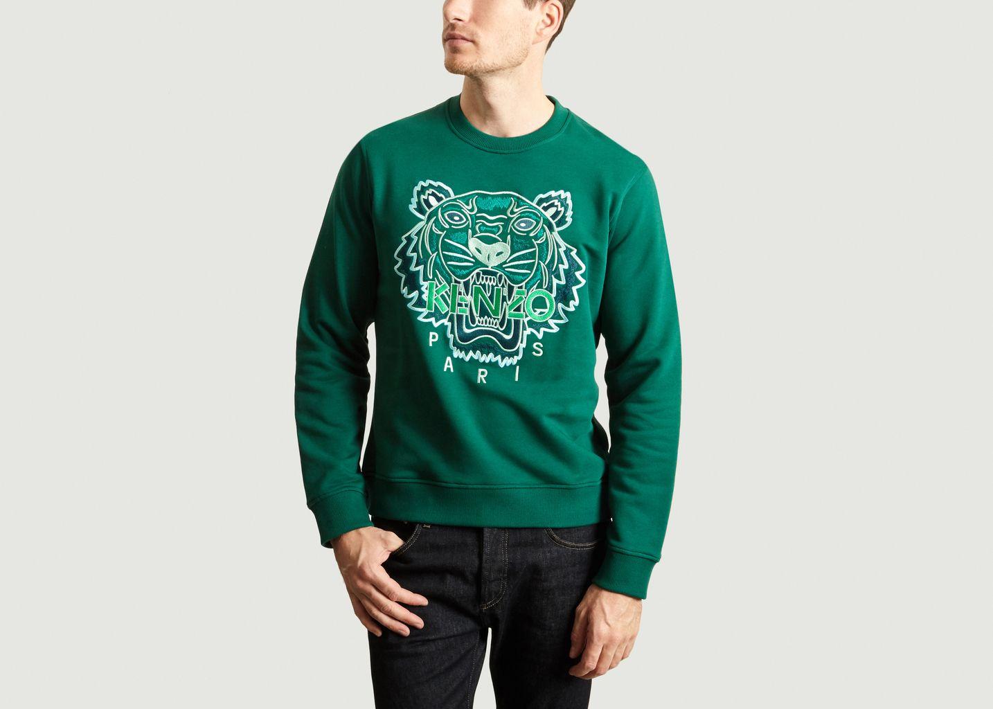 Sweatshirt Tigre Logo - Kenzo