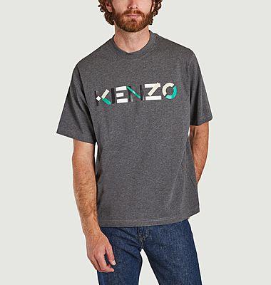 T-shirt Kenzo Logo Multico