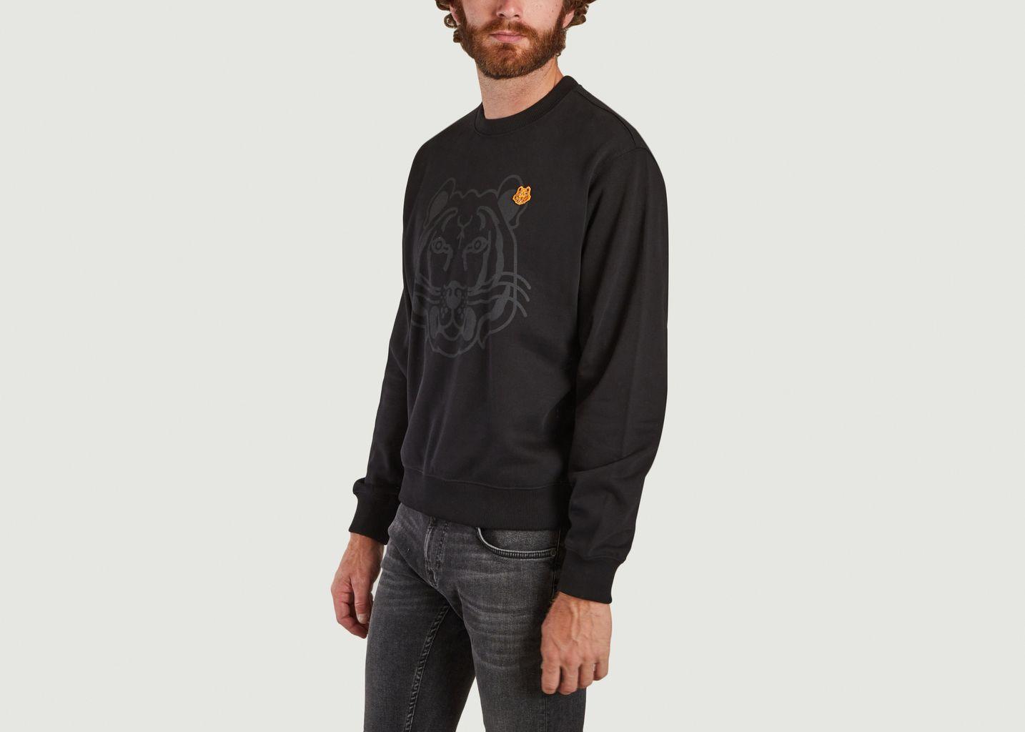 Sweatshirt logotypé K-Tiger - Kenzo