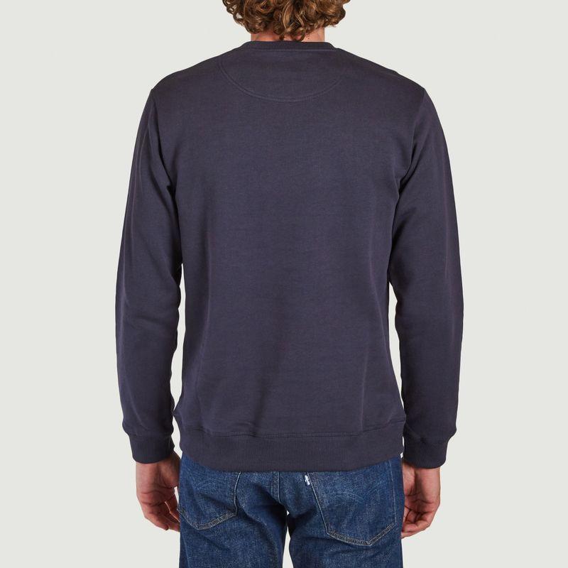 Sweatshirt en coton bio brodé tigre - Kenzo