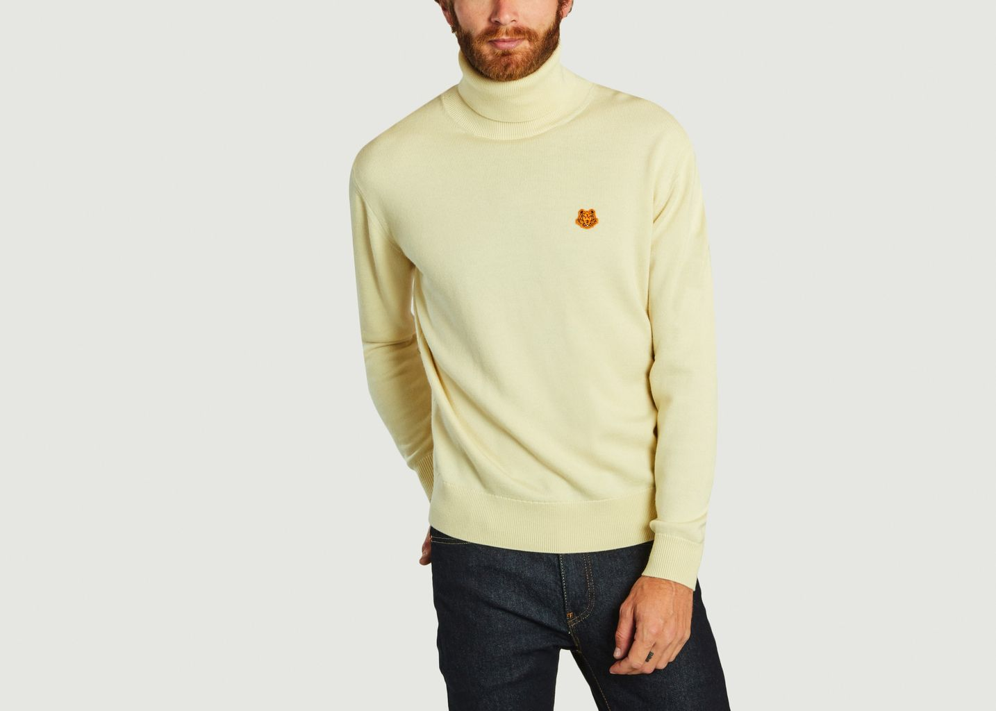 Pull col roulé Tiger Crest - Kenzo