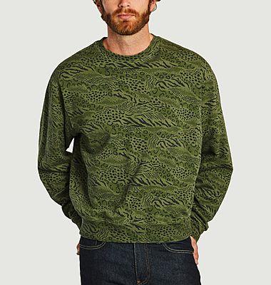 Sweatshirt Léopard