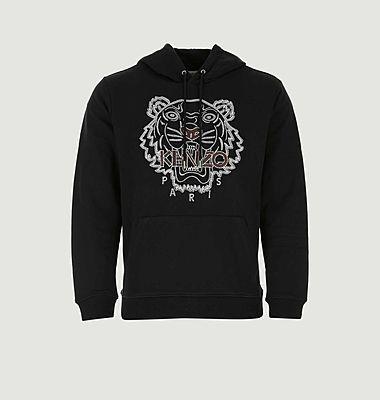 Sweatshirt Tigre à capuche