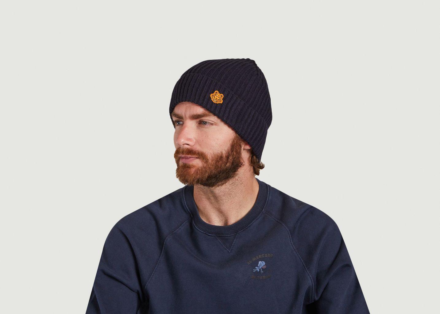 Bonnet en laine Tiger Crest - Kenzo