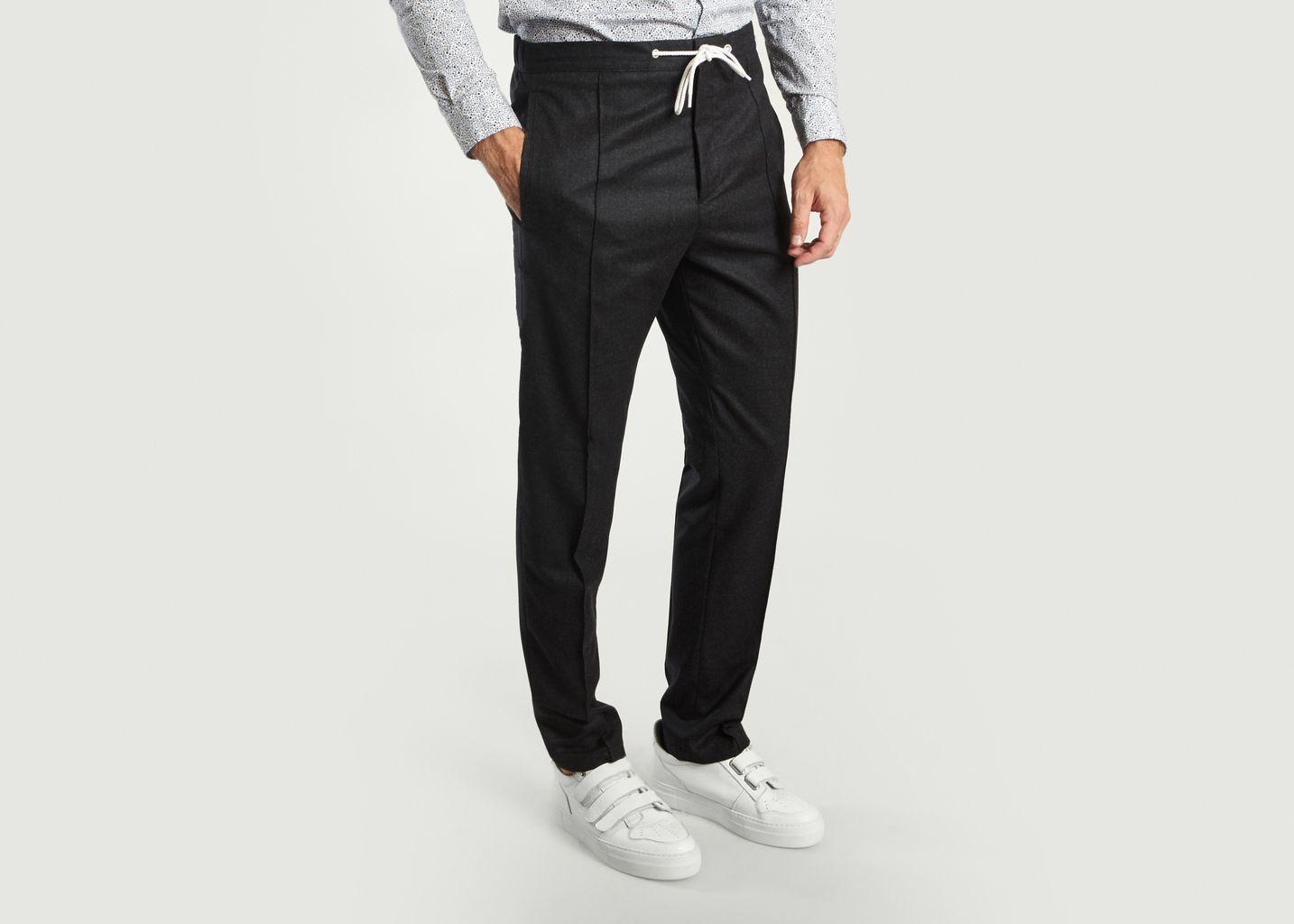 Pantalon à Pinces - Kenzo