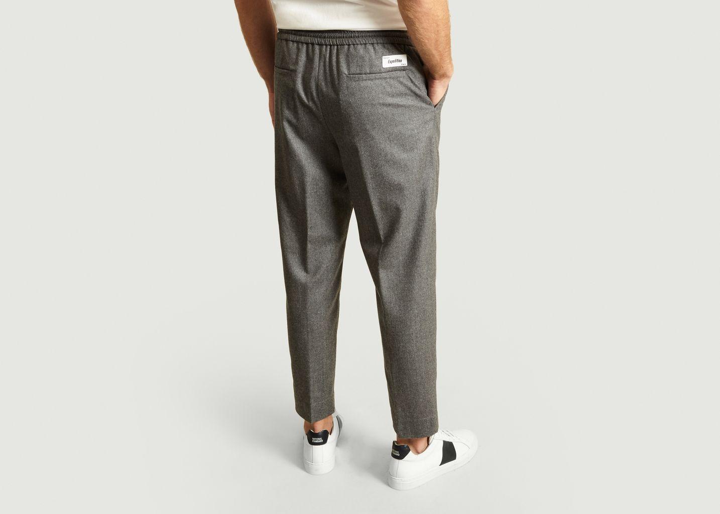 Pantalon en Flanelle - Kenzo