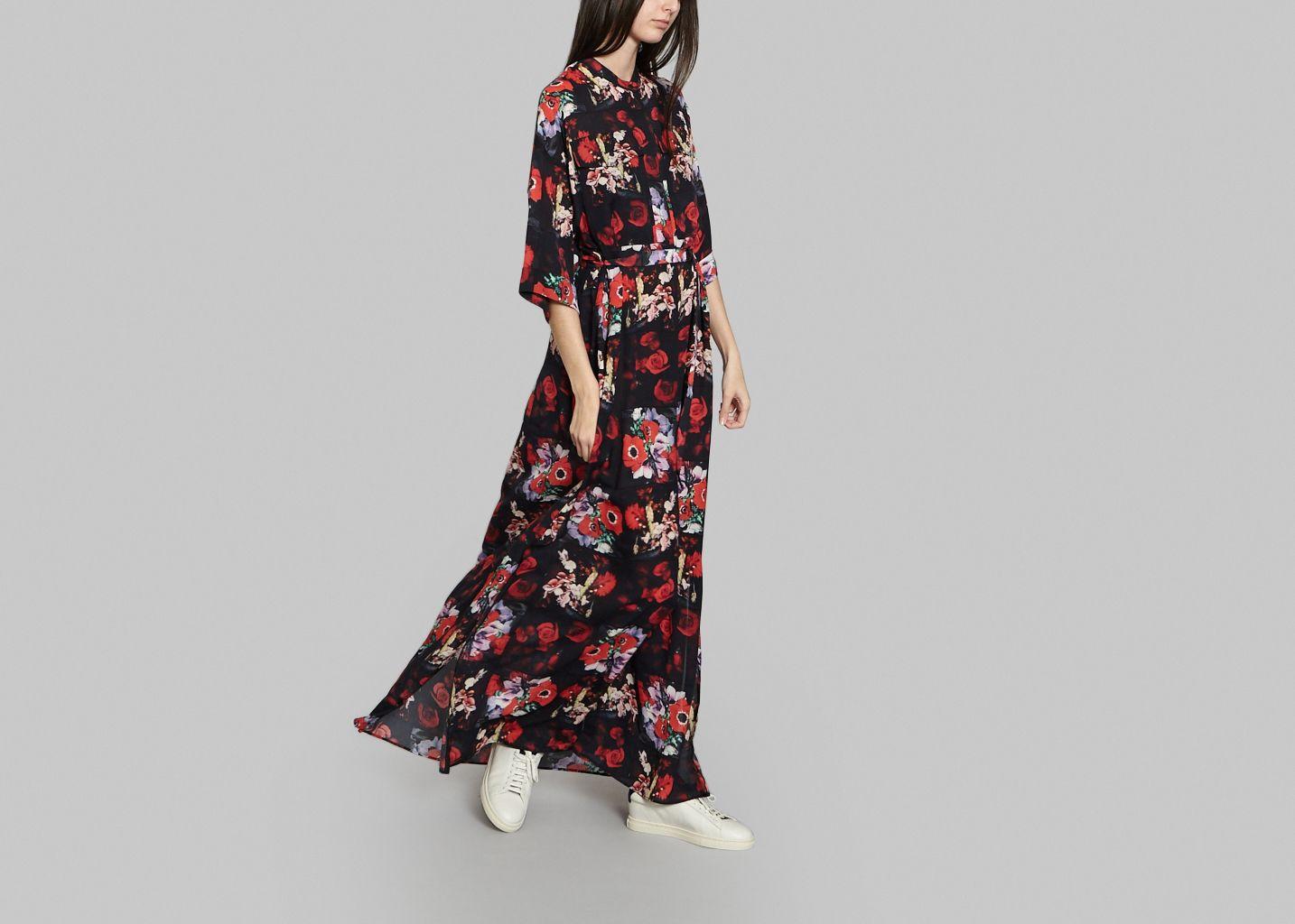Maxi Robe Floral - Kenzo