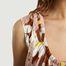 matière Robe Imprimé Floral - Kenzo