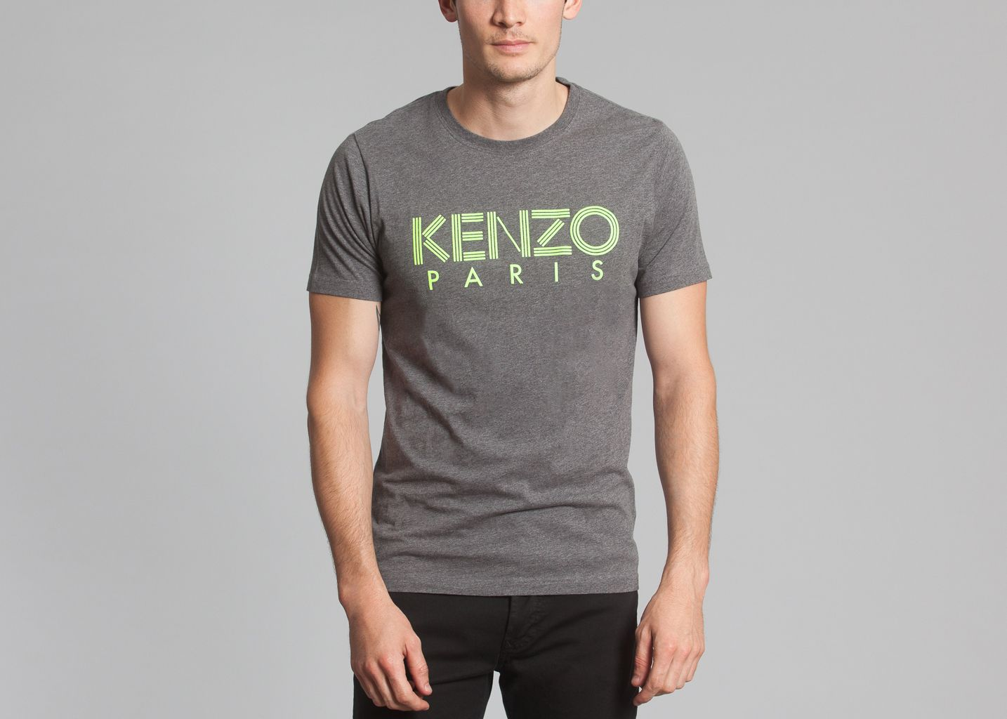 tshirt kenzo x lunch kenzo gris l 39 exception. Black Bedroom Furniture Sets. Home Design Ideas