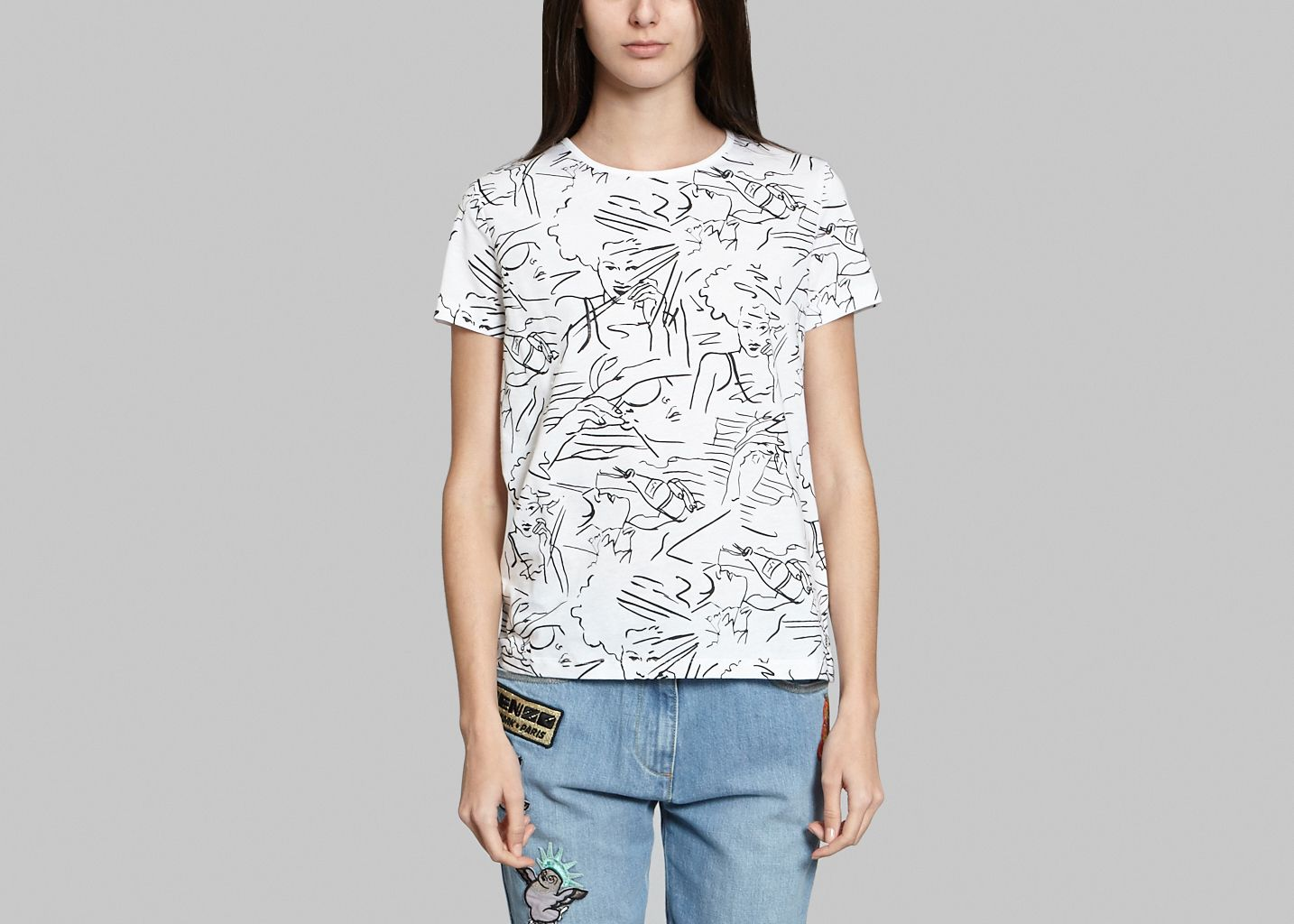 Tshirt Motifs - Kenzo