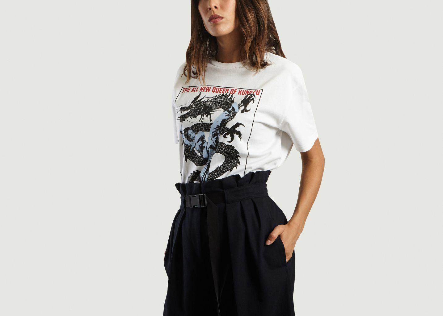 T-Shirt Dragon Kick - Kenzo