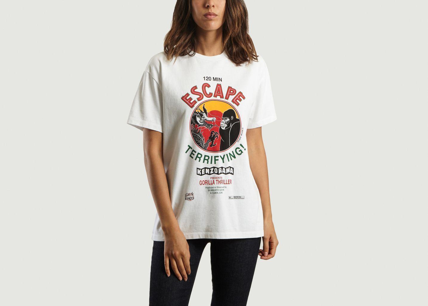 01976b957fe Escape T-shirt White Kenzo Paris
