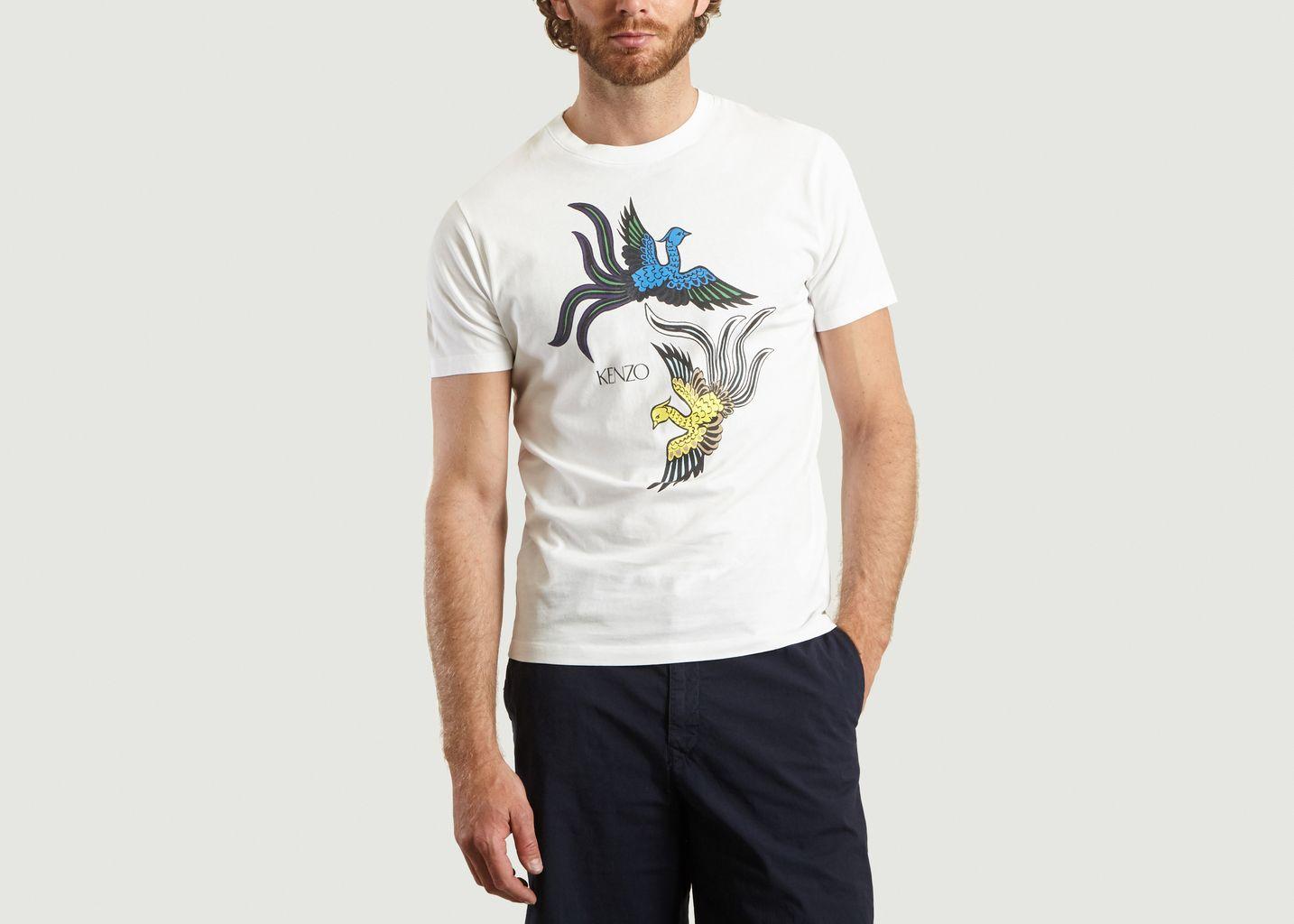 T-Shirt Print Flying Phoenix - Kenzo