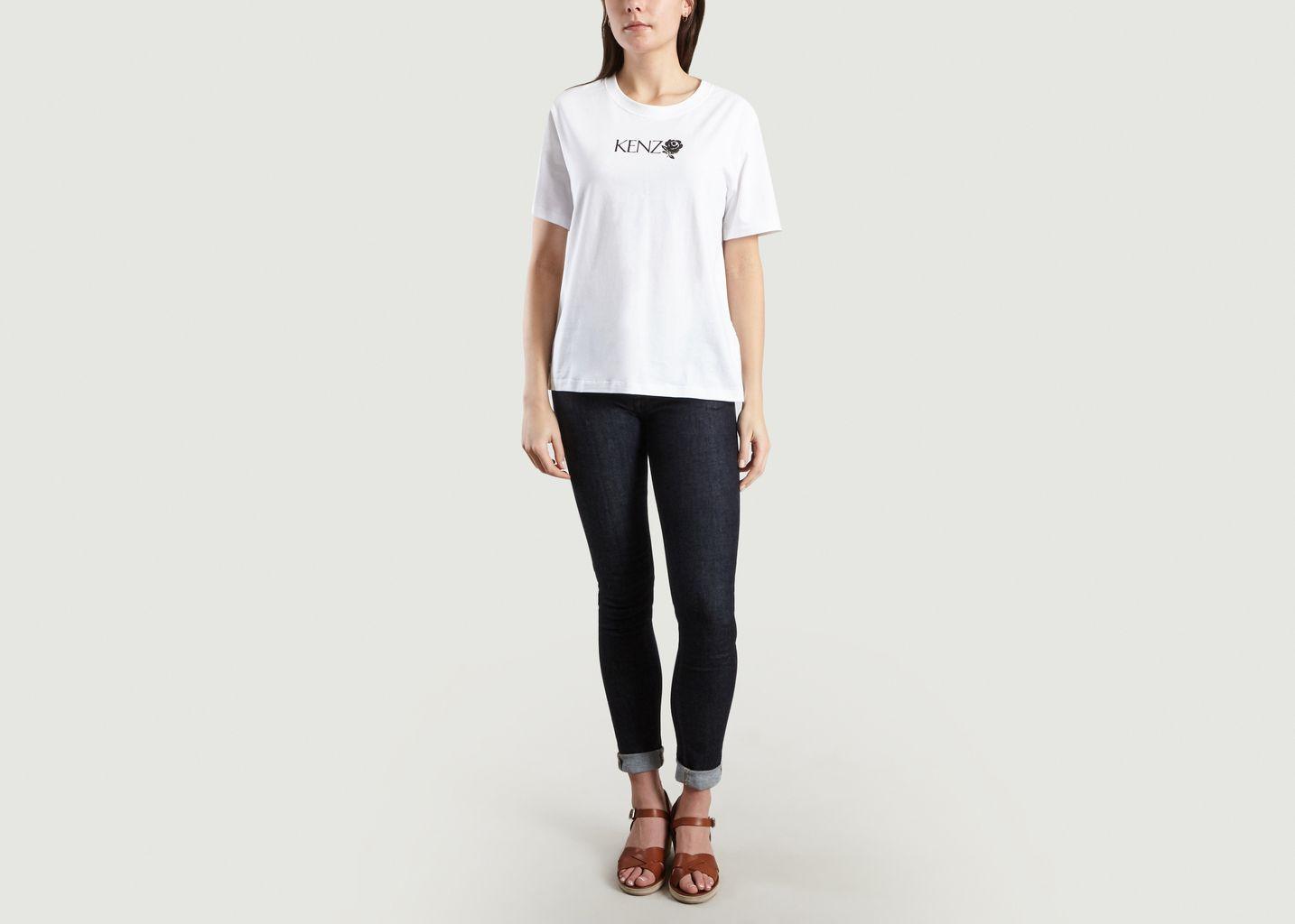 T-Shirt Kenzo Rose - Kenzo
