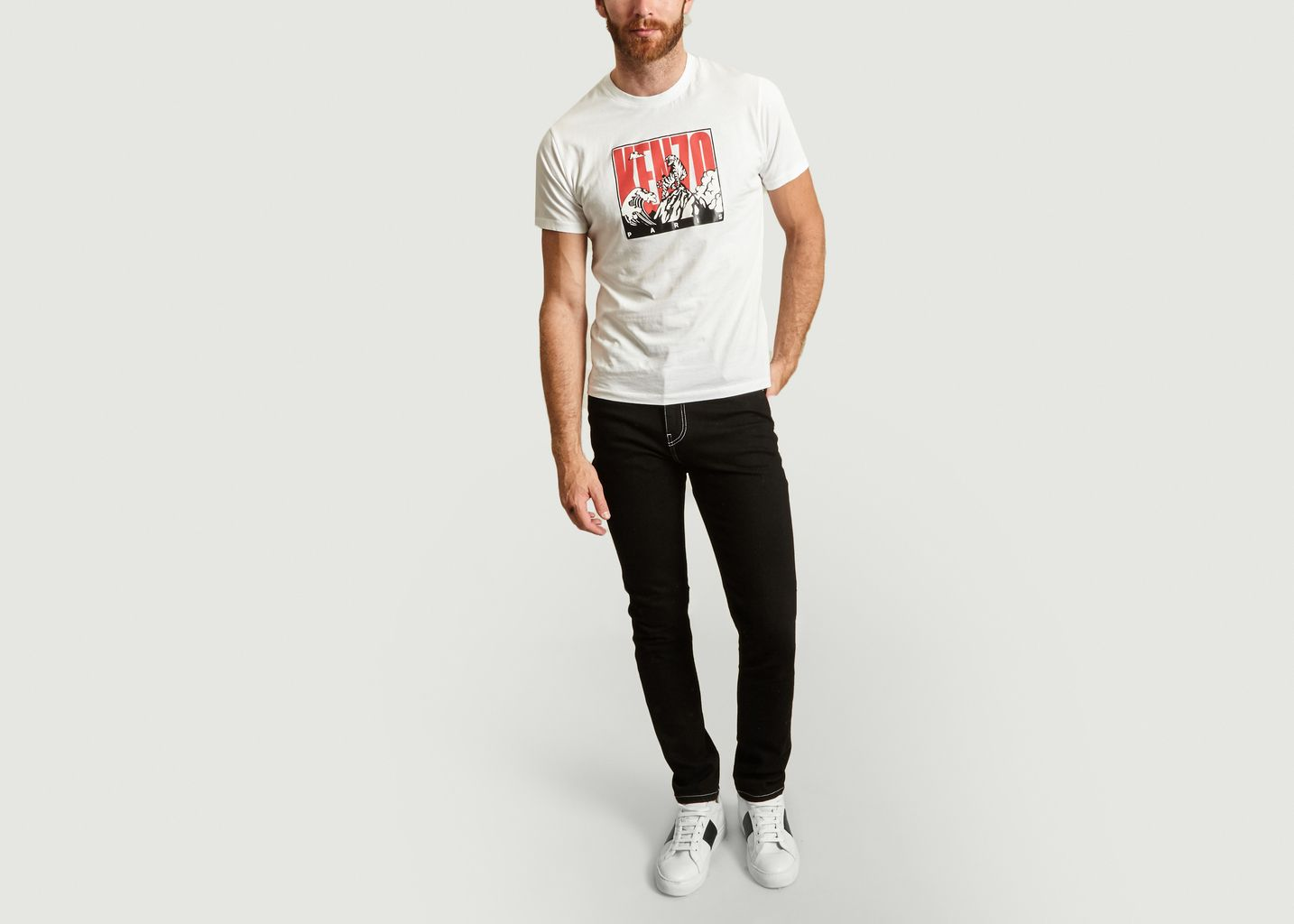T-shirt Tiger Mountain - Kenzo