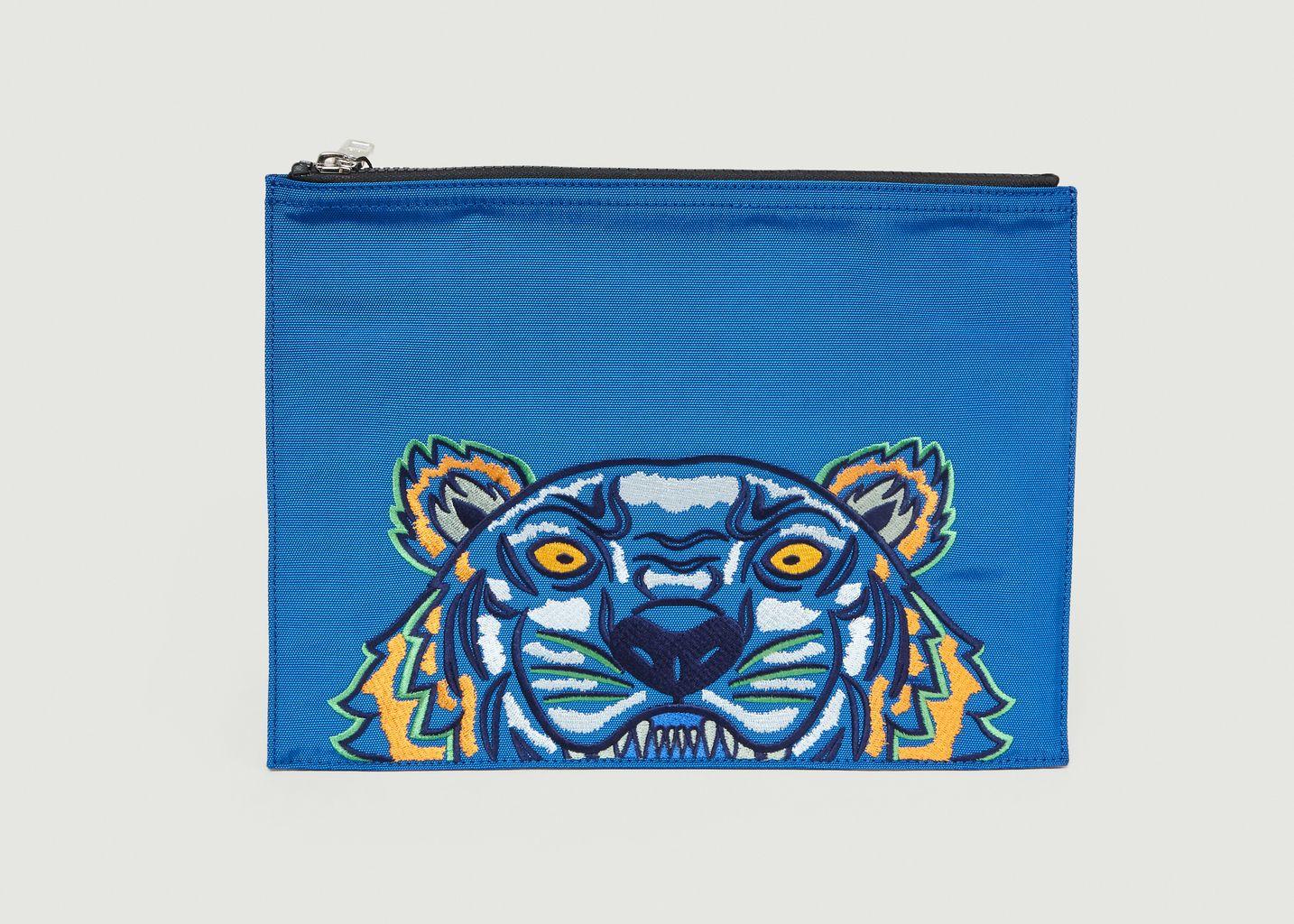 Pochette A4 En Tissu Tigre - Kenzo