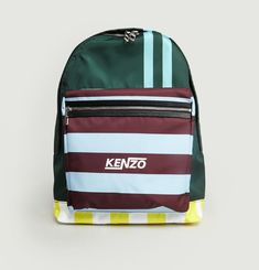 Hyper Striped Backpack