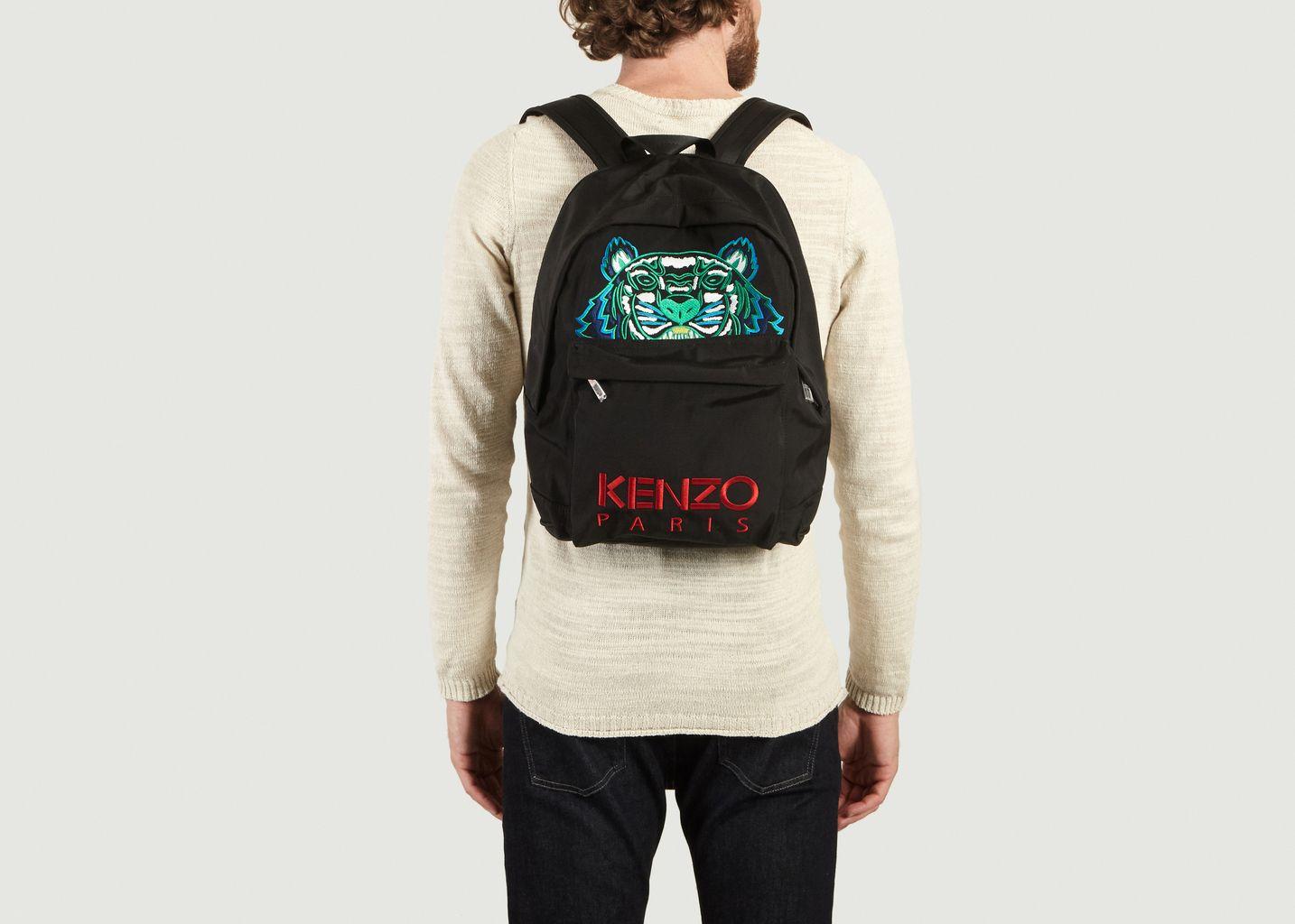 Sac A Dos Tigre Logotypé - Kenzo