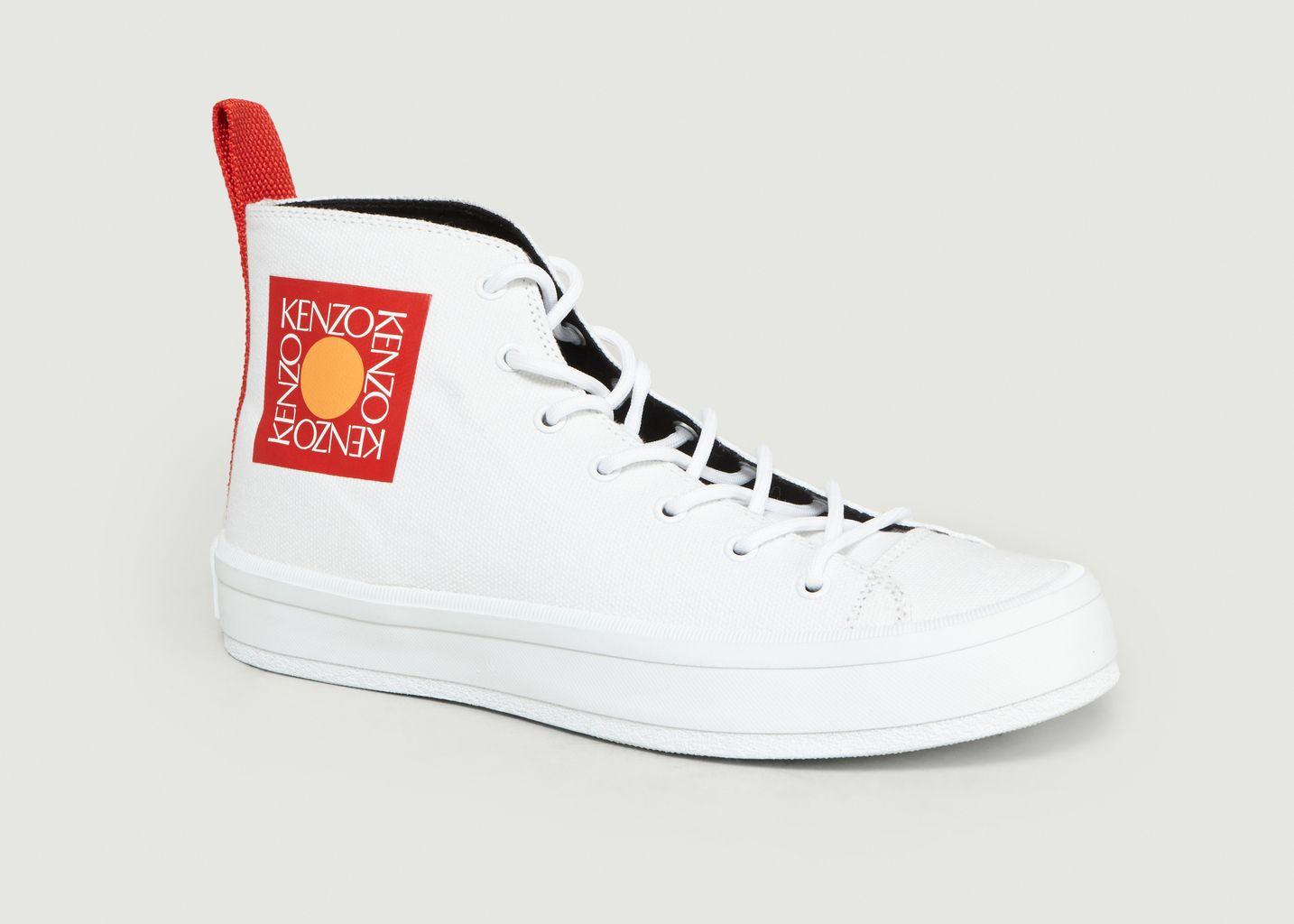 Sneakers Hautes En Toile K-Street - Kenzo