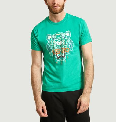 T-Shirt Slim Fit Tigre
