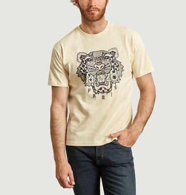 T-shirt Tigre 'Ikat'