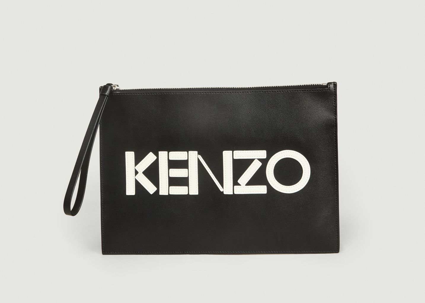 Pochette Format Cuir Logo - Kenzo