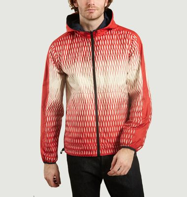 Fishnet Reversible Windbreaker