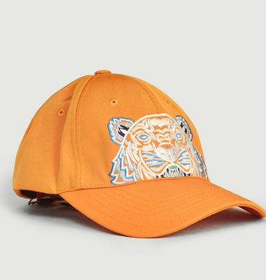 Embroidered tiger cap