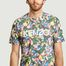matière T-shirt oversize Tulipes all-over Vans x Kenzo - Kenzo