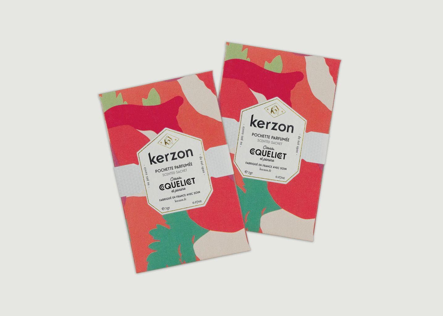 Pochettes Parfumées - Coquelicot - Kerzon