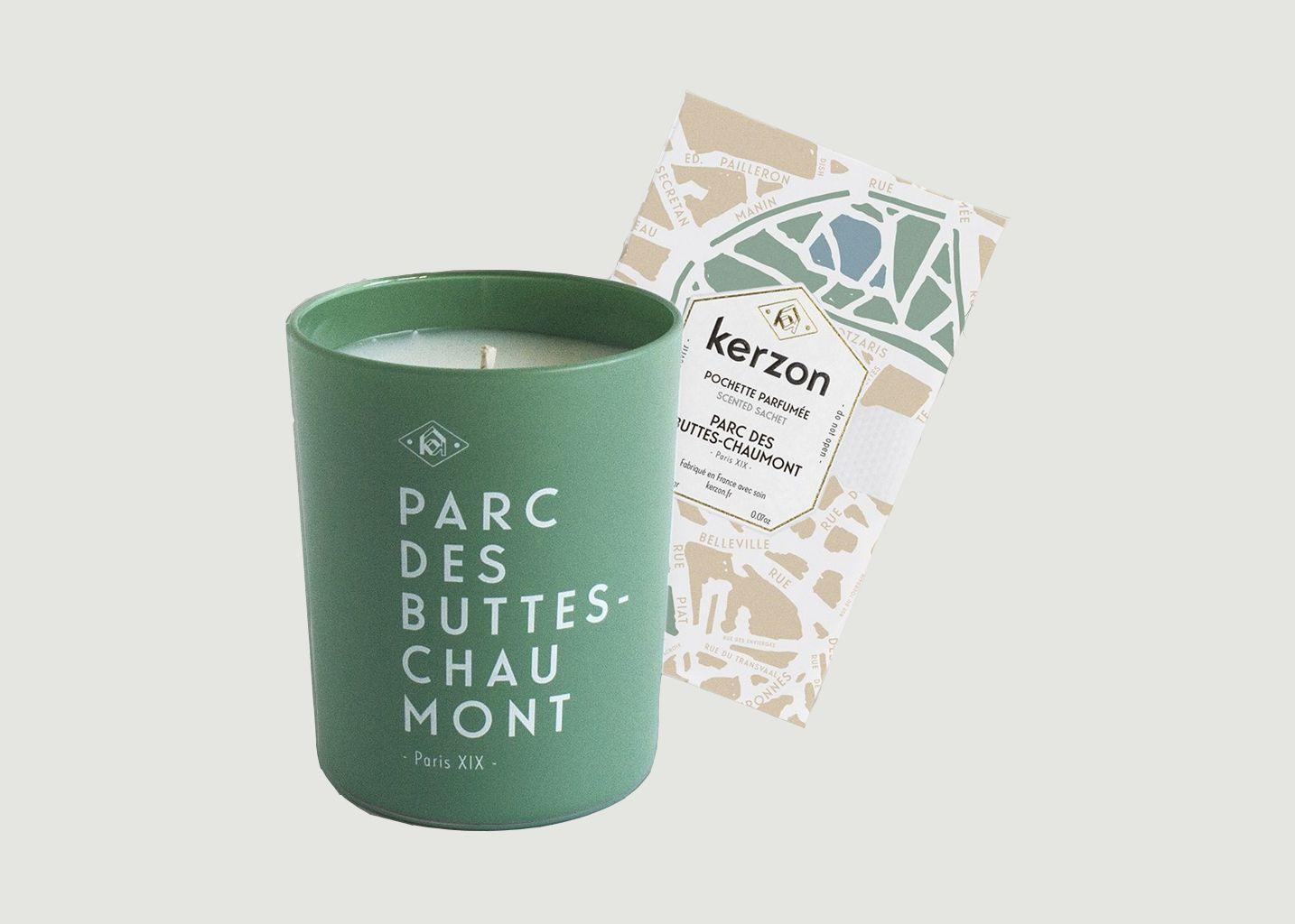 Bougie Parc des Buttes Chaumont Paris XIX - Kerzon