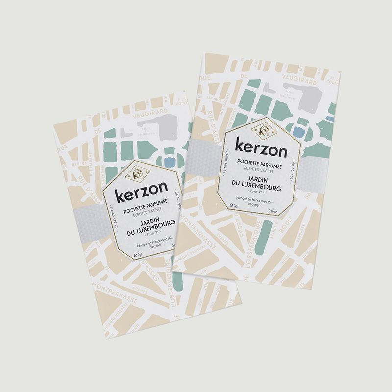 Pochettes Parfumées Jardin du Luxembourg - Kerzon
