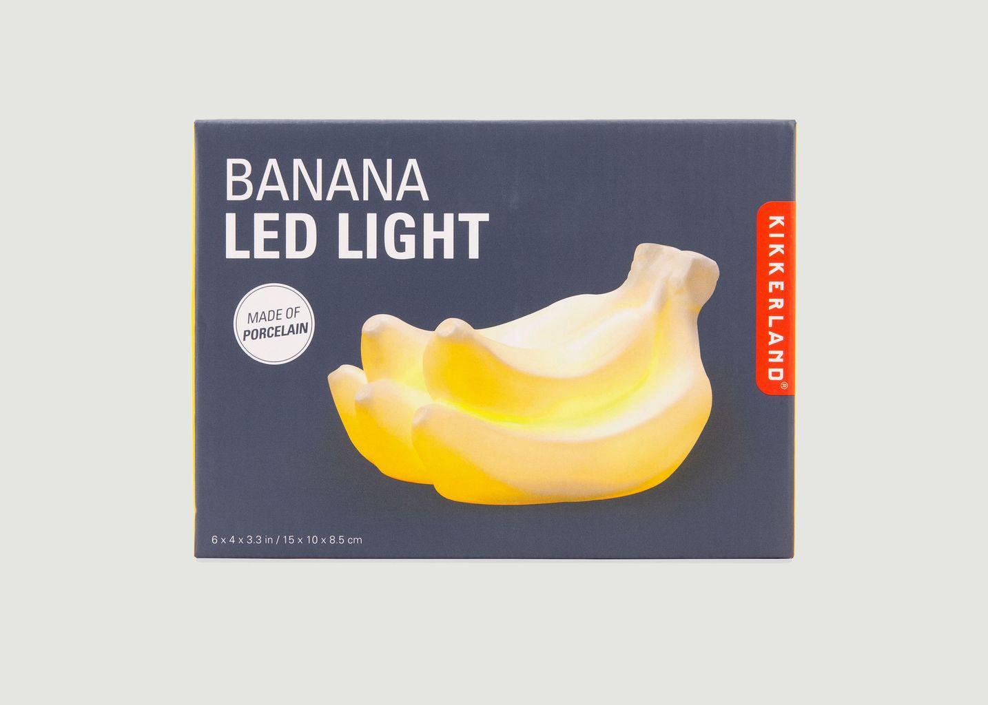 Banana LED lampe - Kikkerland