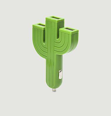 Cactus cigar lighter USB charger socket
