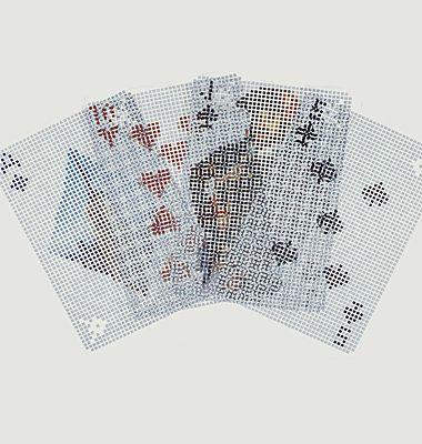Pixel card game