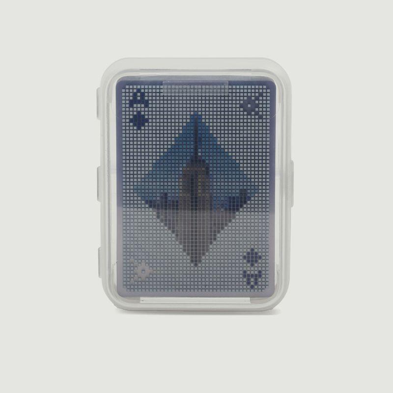 jeu de cartes Pixel - Kikkerland