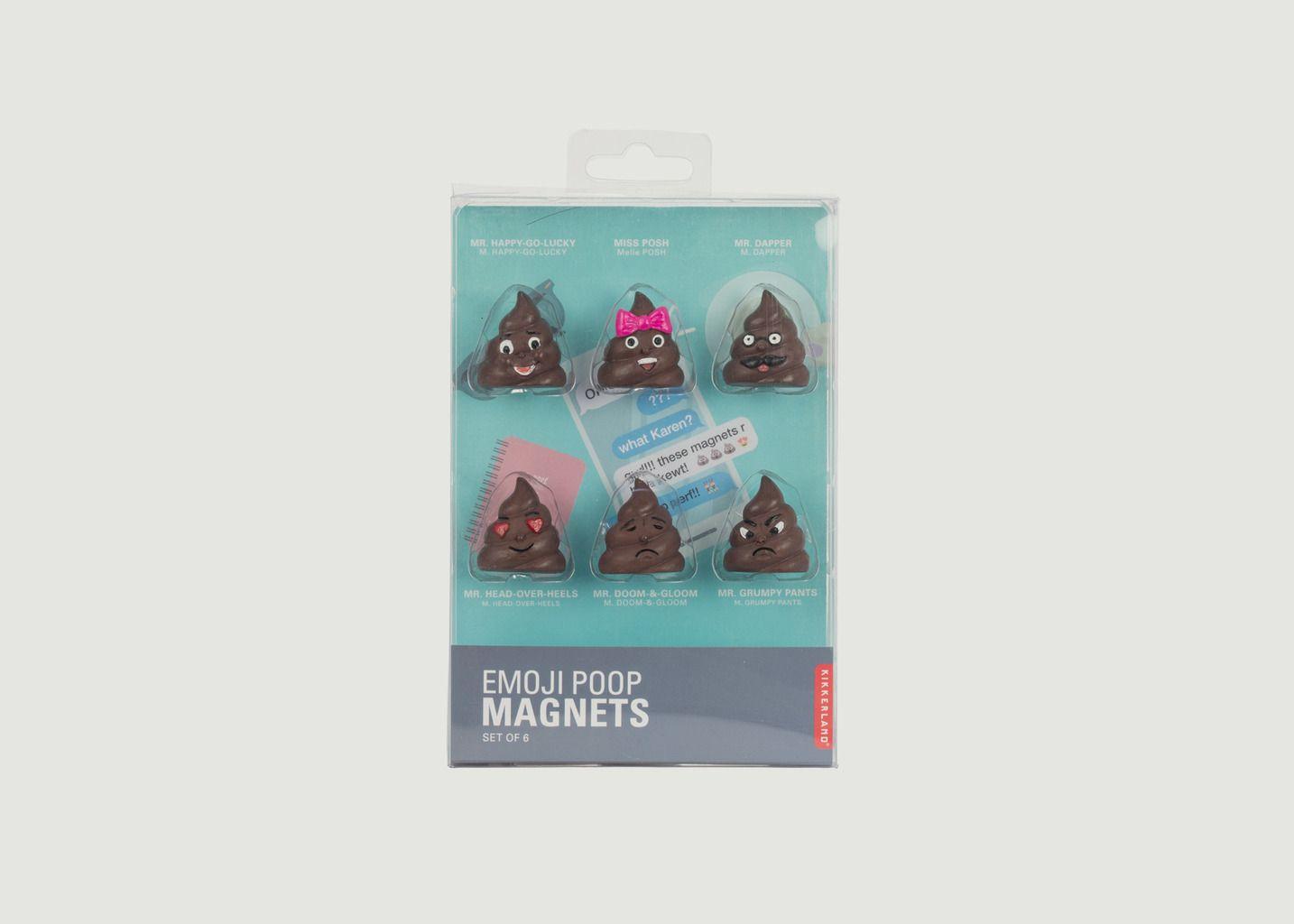 Aimants 'Crottes' - Kikkerland